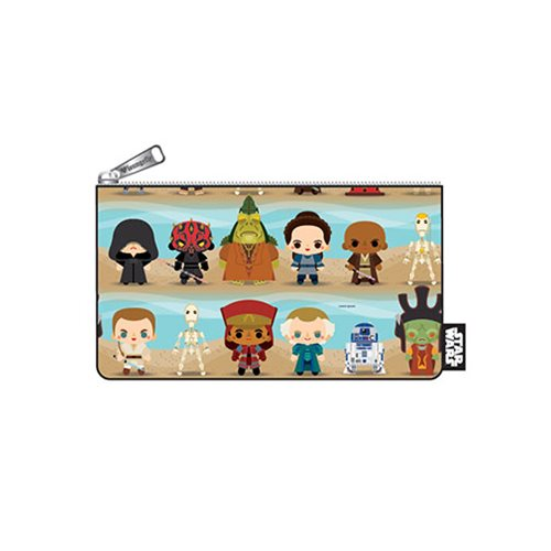 Loungefly x Star Wars The Phantom Menace Chibi Character Coin Bag at Entertainment Earth