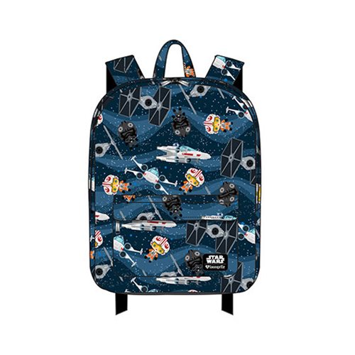 Loungefly x Star Wars Chibi Starships Backpack at Entertainment Earth