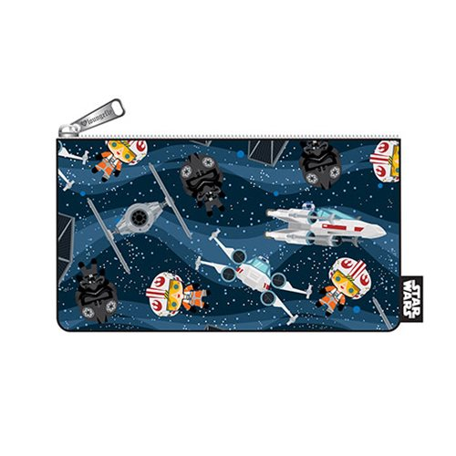 Loungefly x Star Wars Chibi Starships Coin Bag at Entertainment Earth