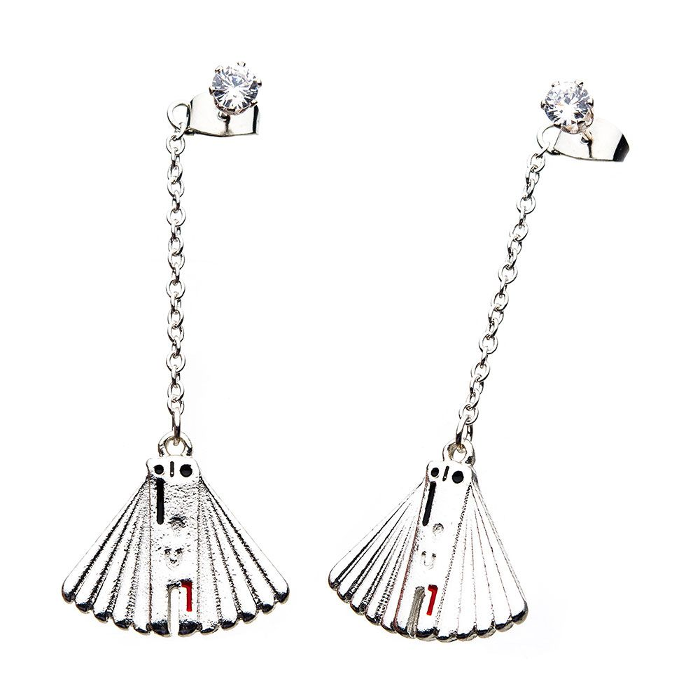 Body Vibe x Star Wars Solo Enfys Nest Fan Dangle Earrings at Fandango Fan Shop