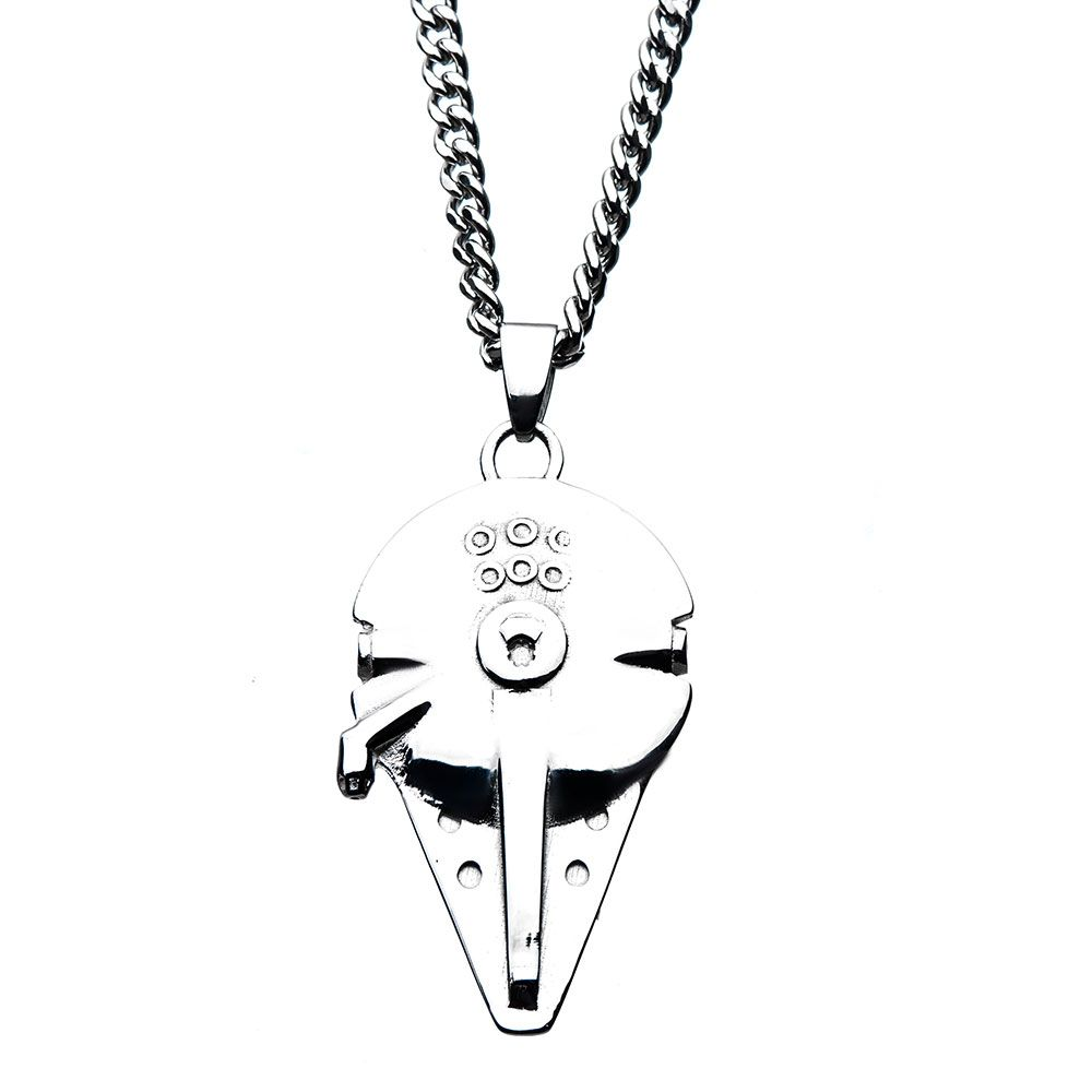 Body Vibe x Star Wars Solo Millennium Falcon Necklace at Fandango Fan Shop
