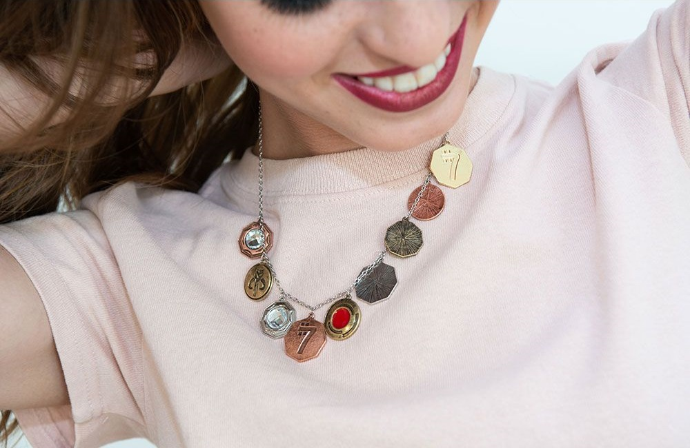 Body Vibe x Star Wars Solo Sabacc Coins Necklace at Fandango Fan Shop