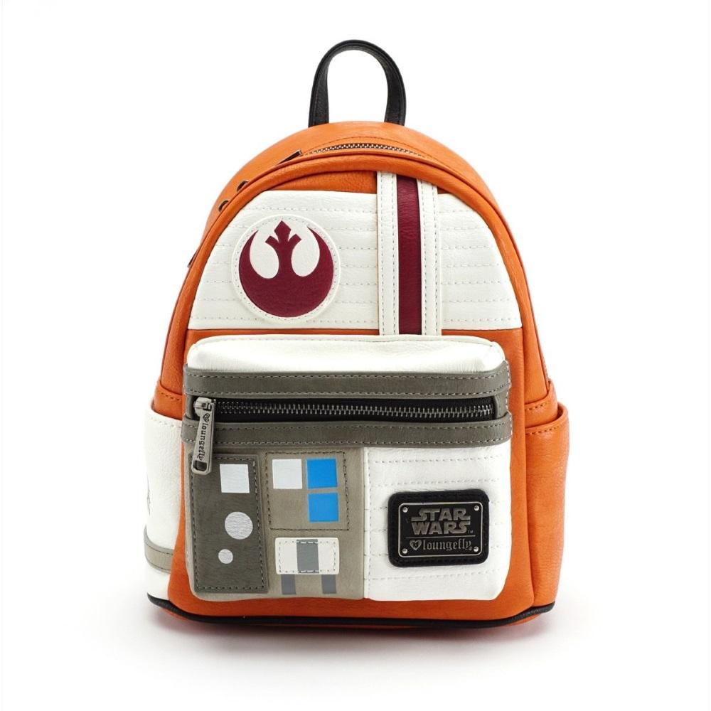 Loungefly x Star Wars Rebel X-Wing Pilot Cosplay Mini Backpack at Fandango Fan Shop