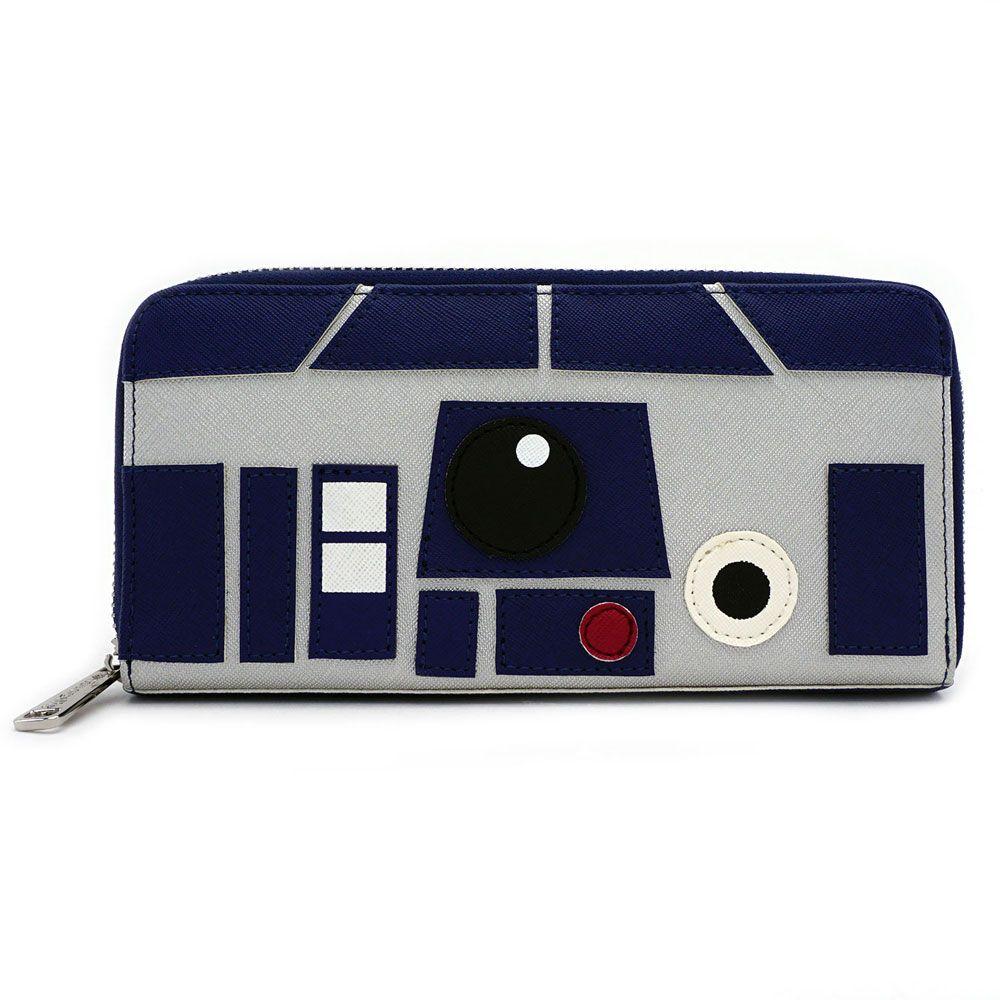 Loungefly x Star Wars R2-D2 Zip Up Wallet at Fandango Fan Shop