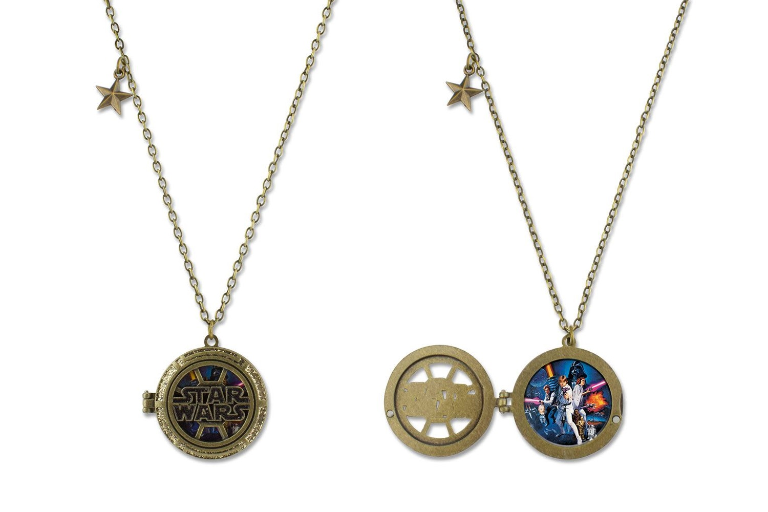 Fandango Exclusive Star Wars Locket Necklace