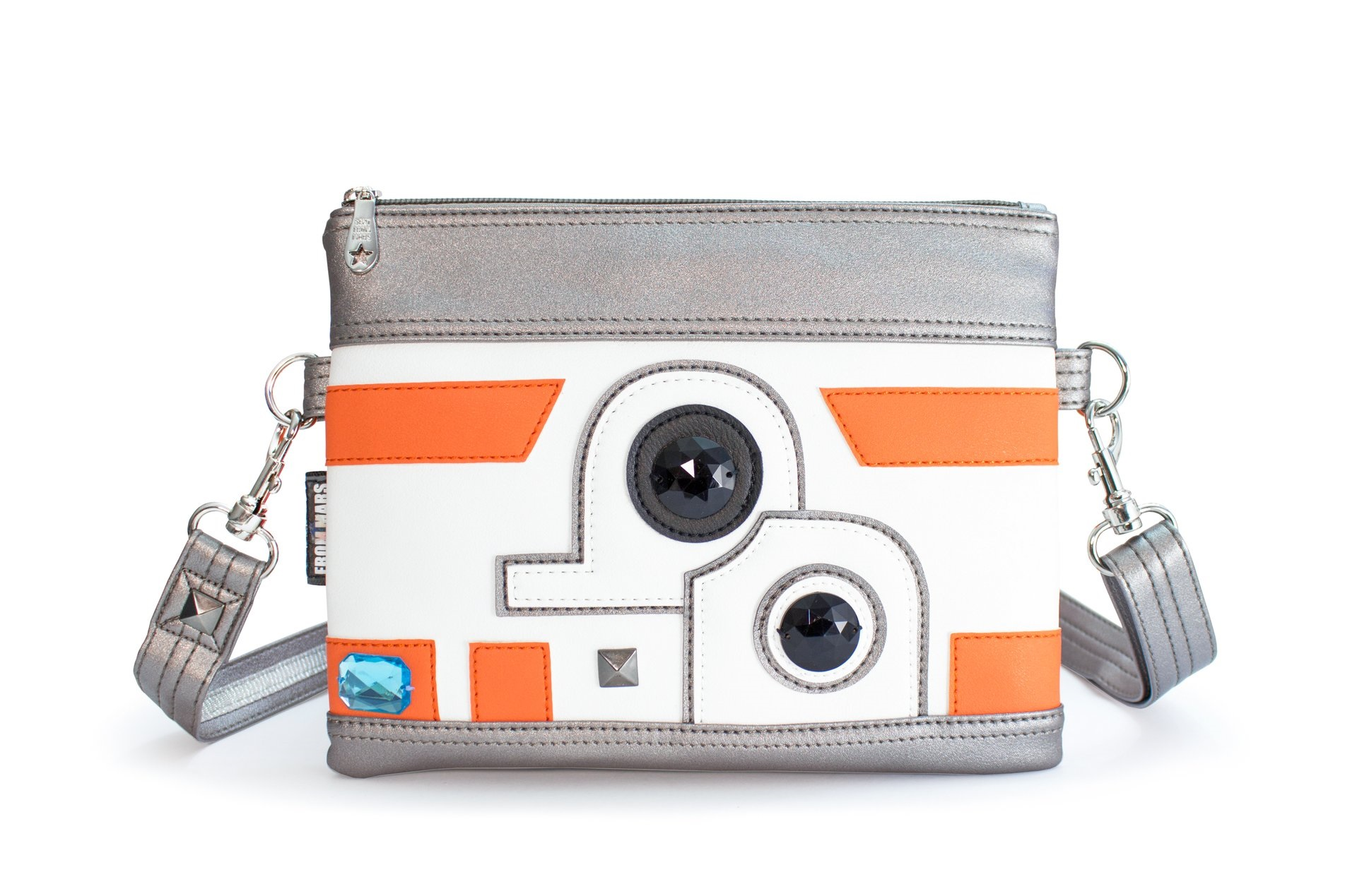 Star Wars BB-8 Inspired Faux Leather Purse by Sent From Mars