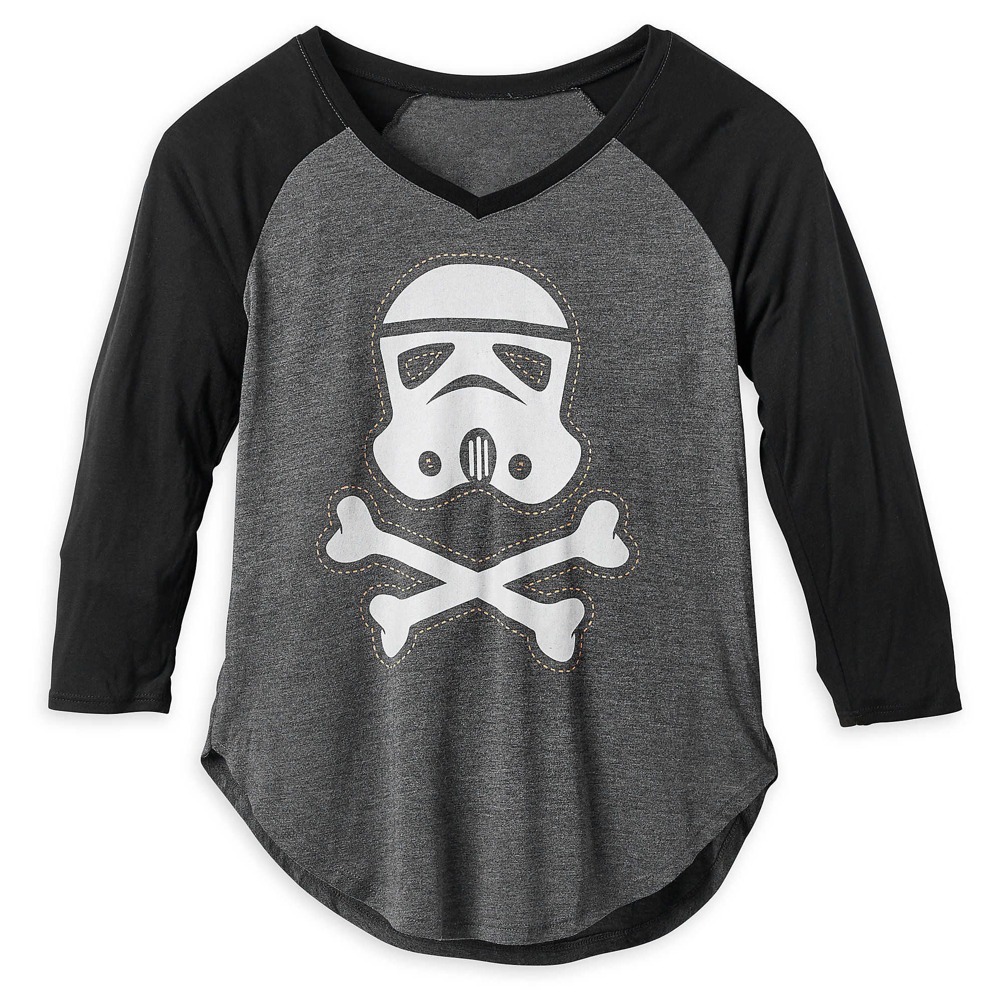 Women's Star Wars Stormtrooper Halloween Raglan T-Shirt at Shop Disney