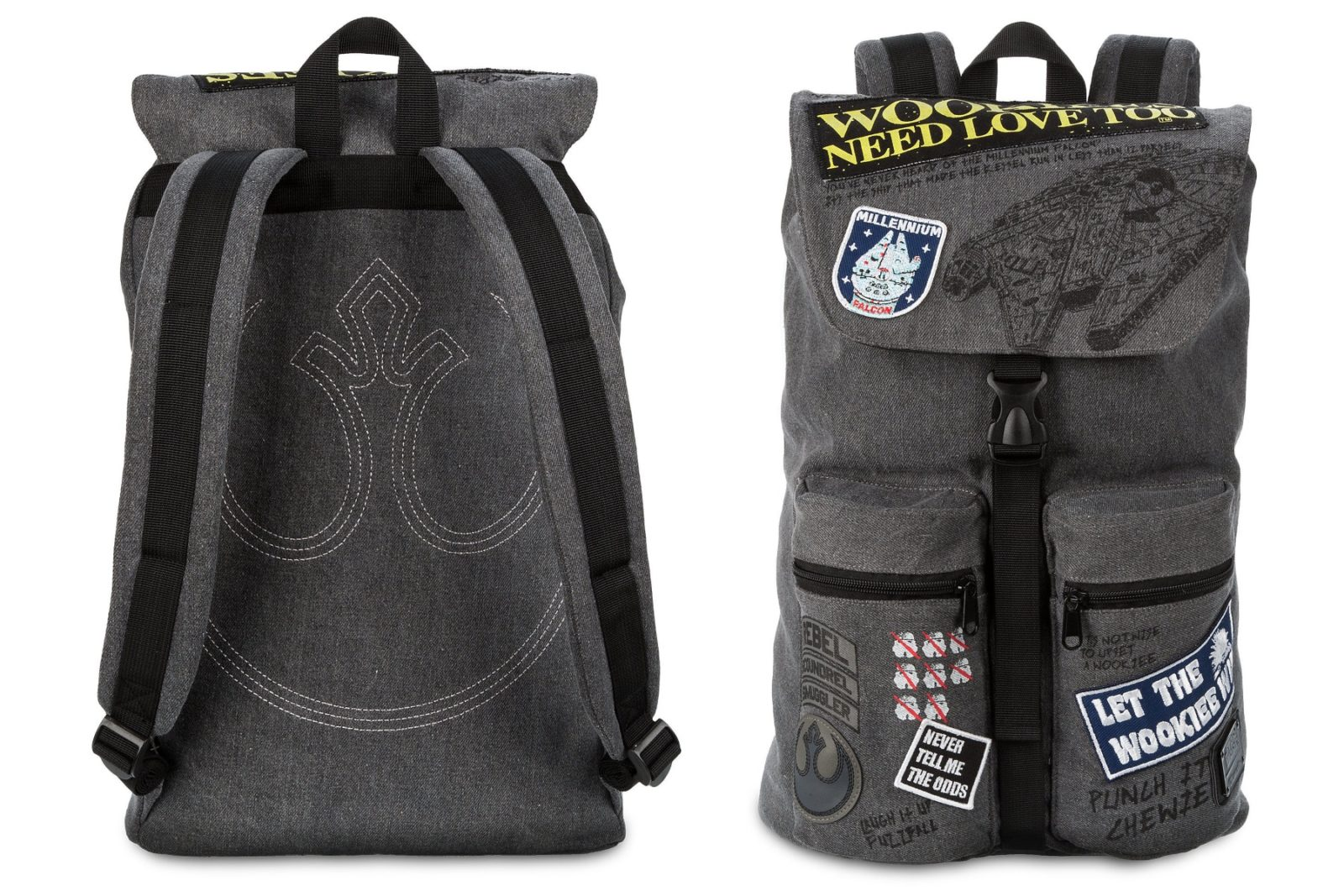 Star Wars Wookiee Backpack by Loungefly