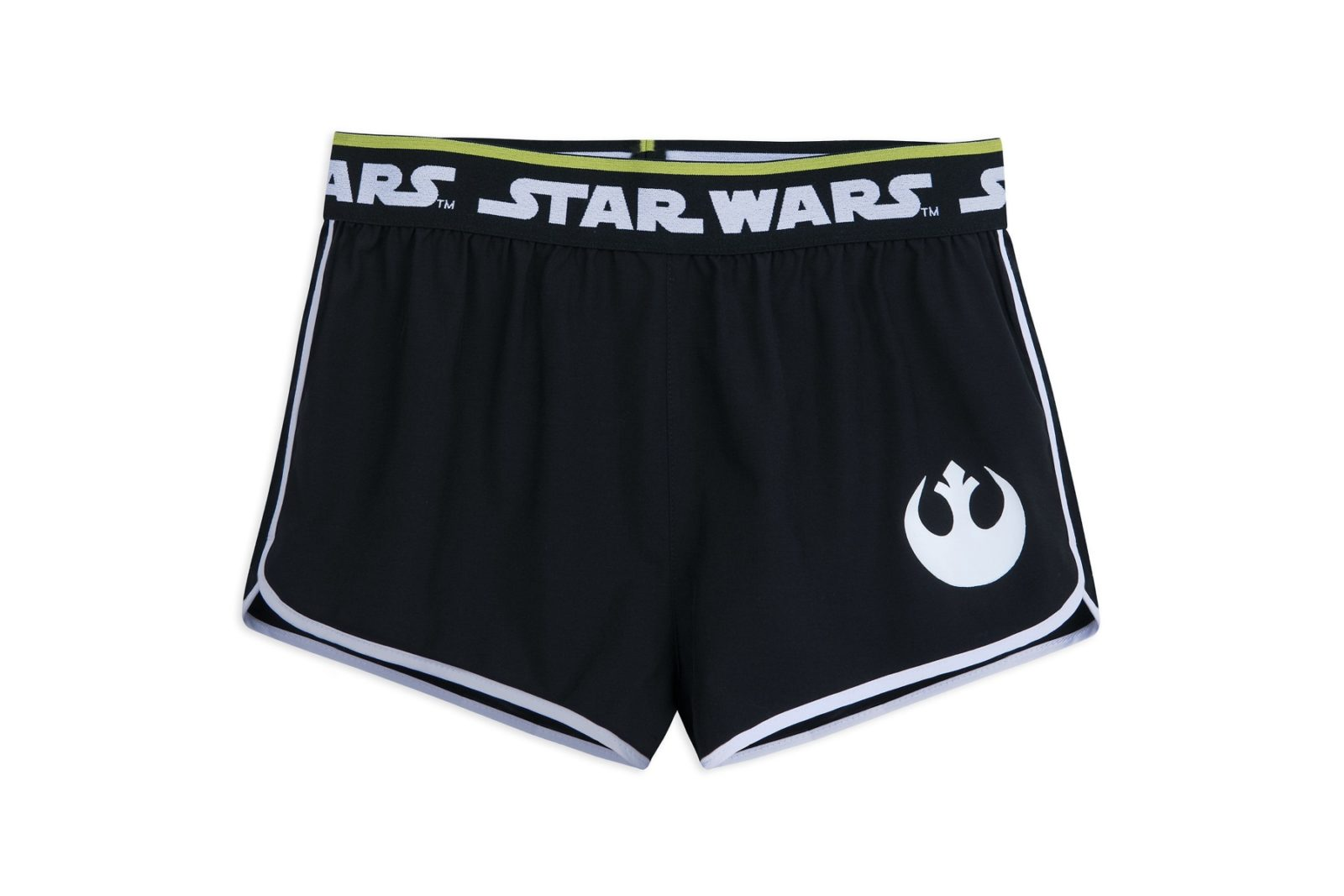 New Women's Star Wars Rebel Athletic Shorts
