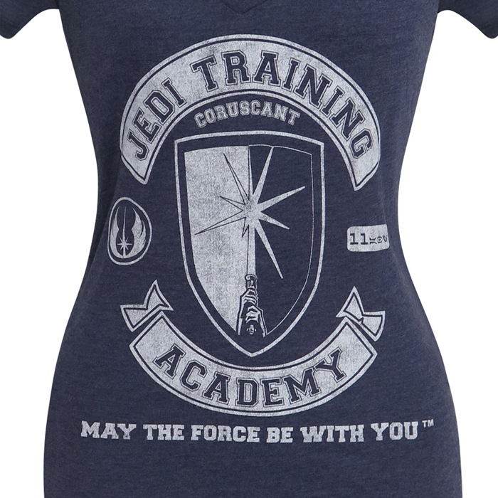 Women's Star Wars Jedi Training Academy T-Shirt at SuperHeroStuff