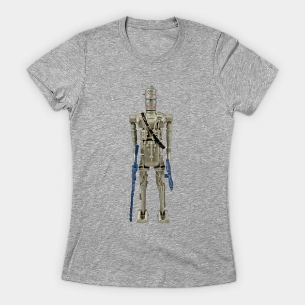 Leia's List - Women's Star Wars IG-88 T-Shirt at TeePublic