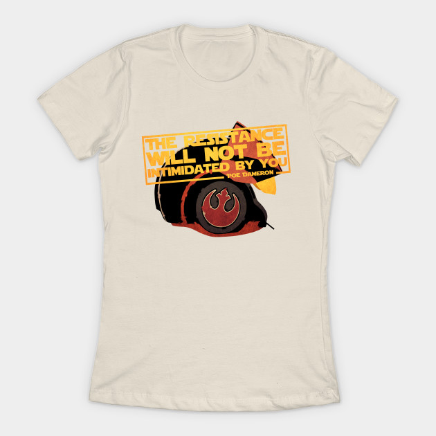 Leia's List - Women's Star Wars Poe Dameron T-Shirt at TeePublic