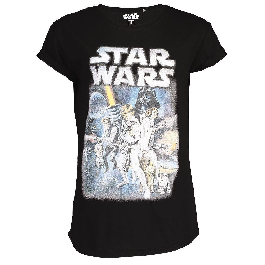 Women's Star Wars Poster Artwork T-Shirt at The Warehouse