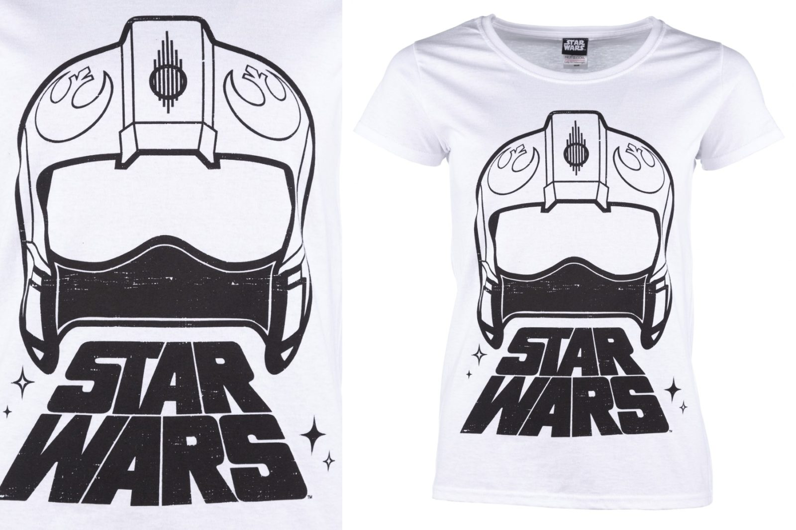 Women's Star Wars X-Wing Pilot Helmet T-Shirt