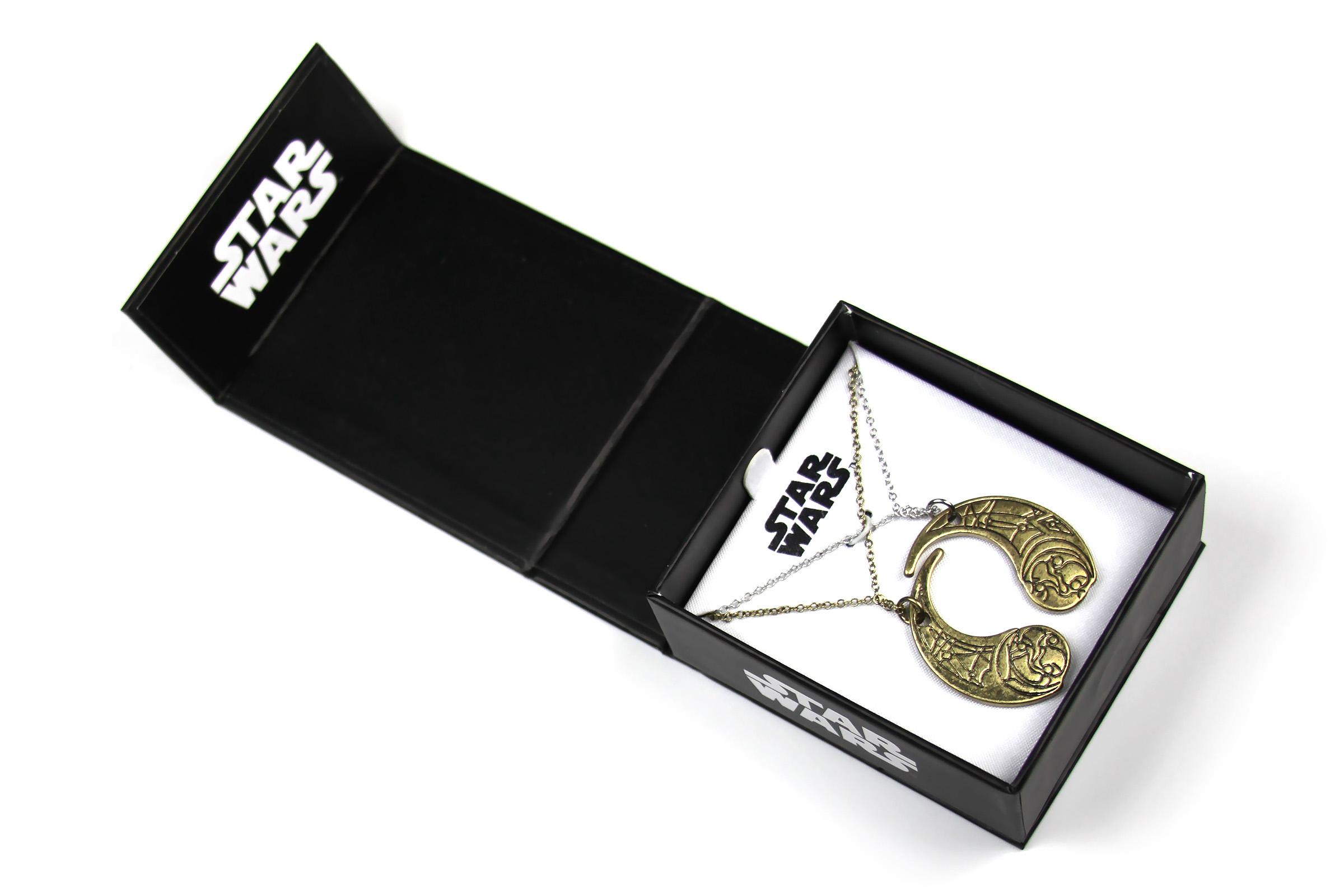 Body Vibe x Star Wars The Last Jedi Haysian Smelt Necklace Set