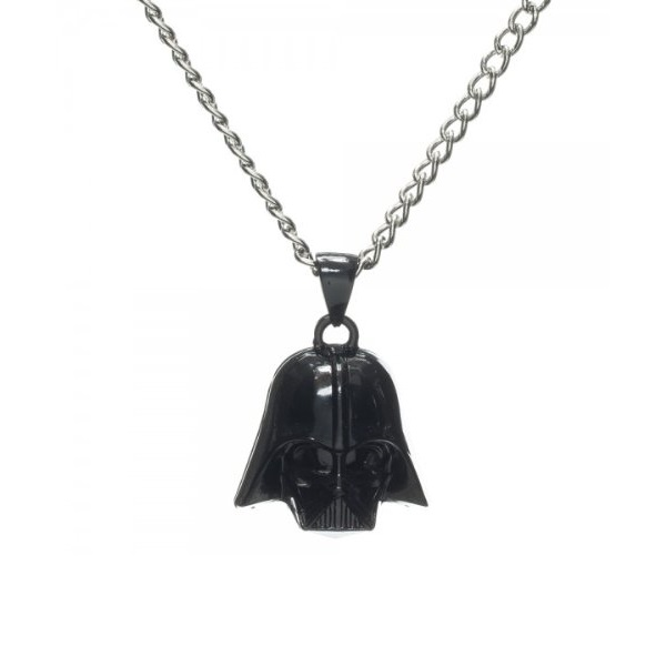 Bioworld x Star Wars Darth Vader Helmet Necklace on Amazon