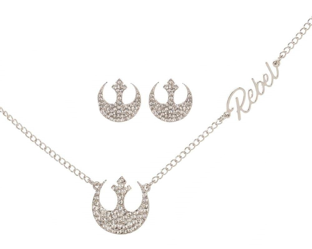 Bioworld x Star Wars Rebel Alliance Jewelry Set with Trinket Tray on Amazon