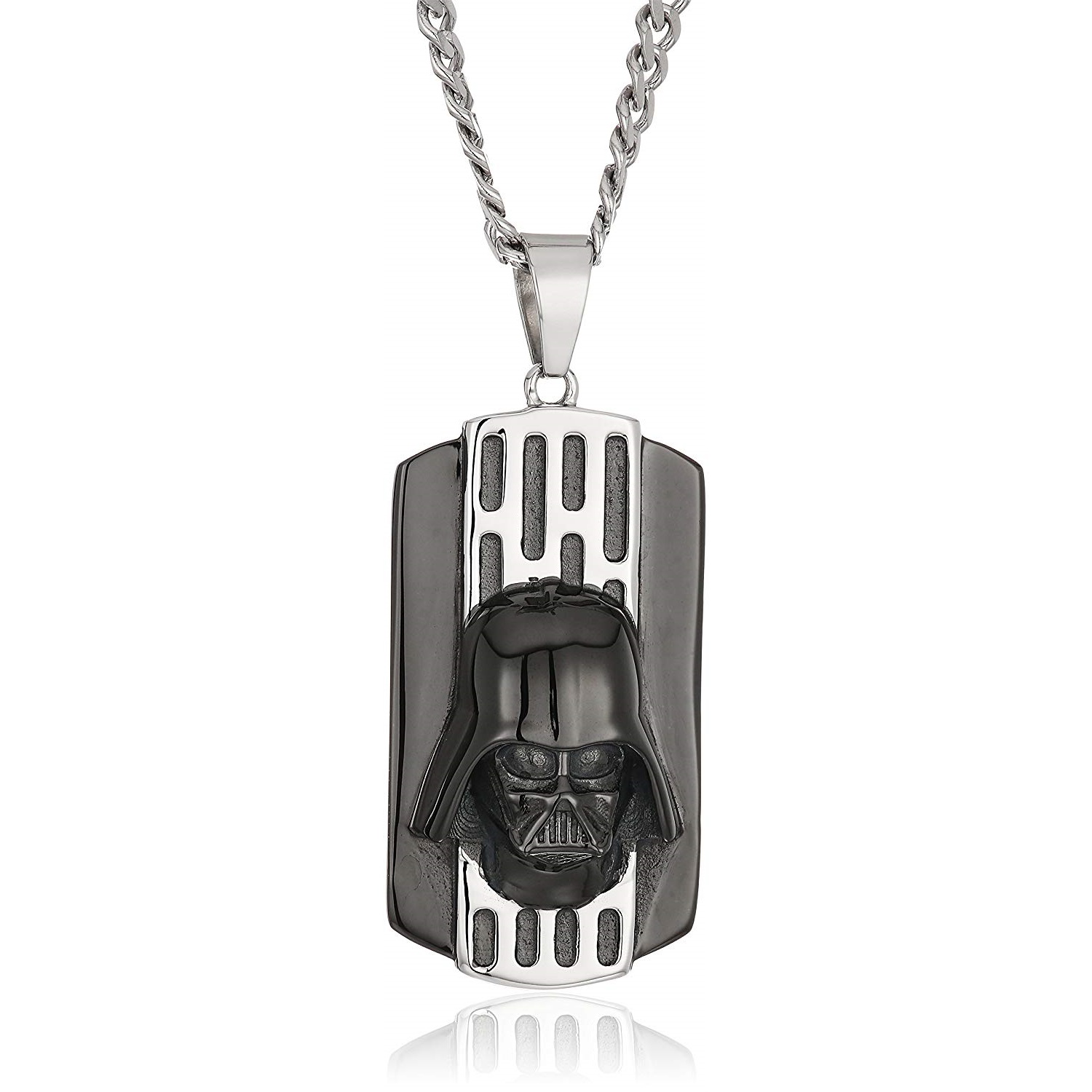Body Vibe x Star Wars Darth Vader Back Plated Necklace on Amazon