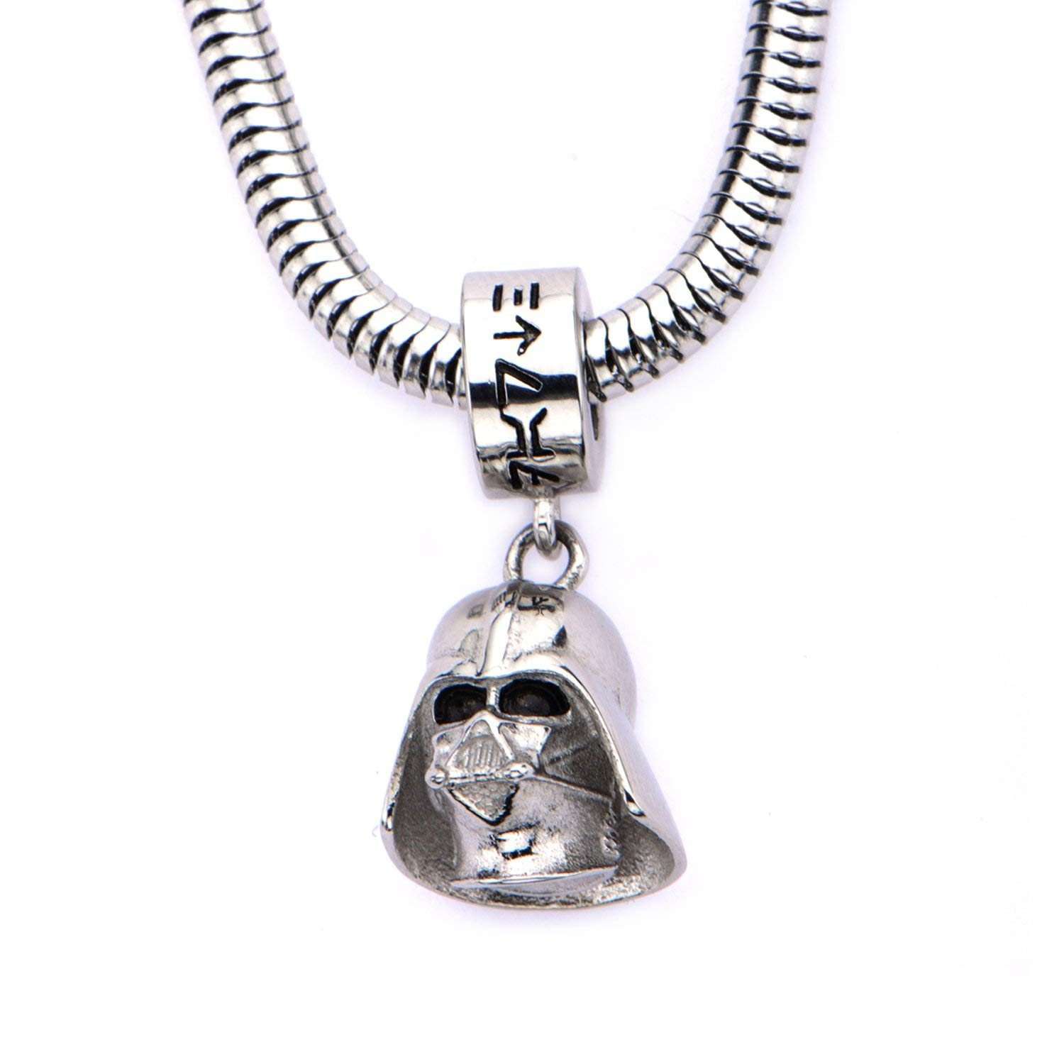 Body Vibe x Star Wars Darth Vader Charm Necklace on Amazon