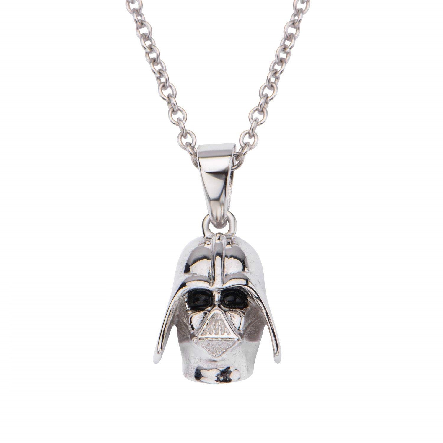 Body Vibe x Star Wars Darth Vader Sterling Silver Necklace on Amazon