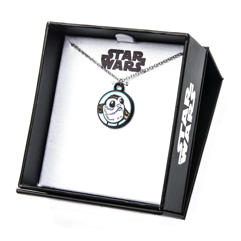 Body Vibe x Star Wars Porg Enamel Necklace on Amazon