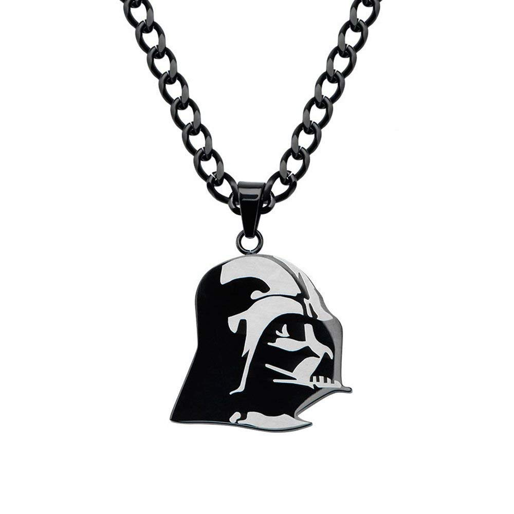 Body Vibe x Star Wars Darth Vader 3/4 View Helmet Necklace on Amazon