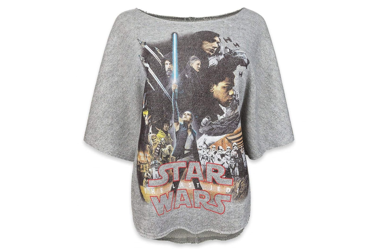 Women's The Last Jedi Sweatshirt on Amazon