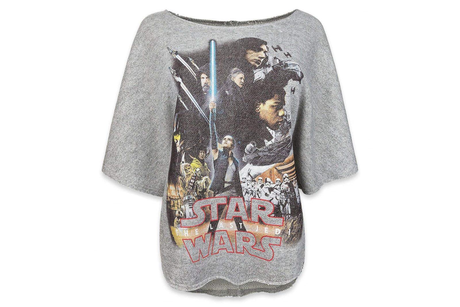 Women's The Last Jedi Sweatshirt on Amazon