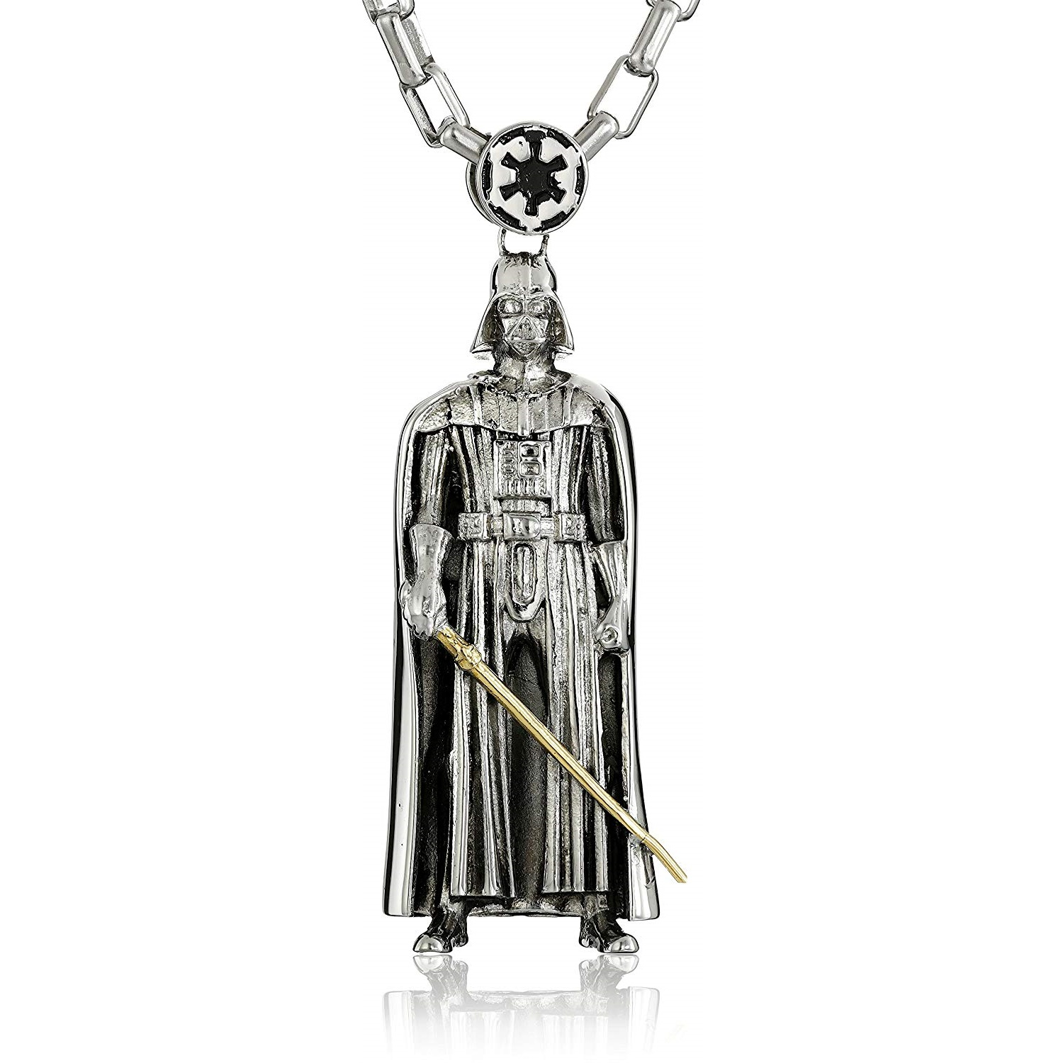 Han Cholo x Star Wars Darth Vader Stainless Steel Necklace on Amazon