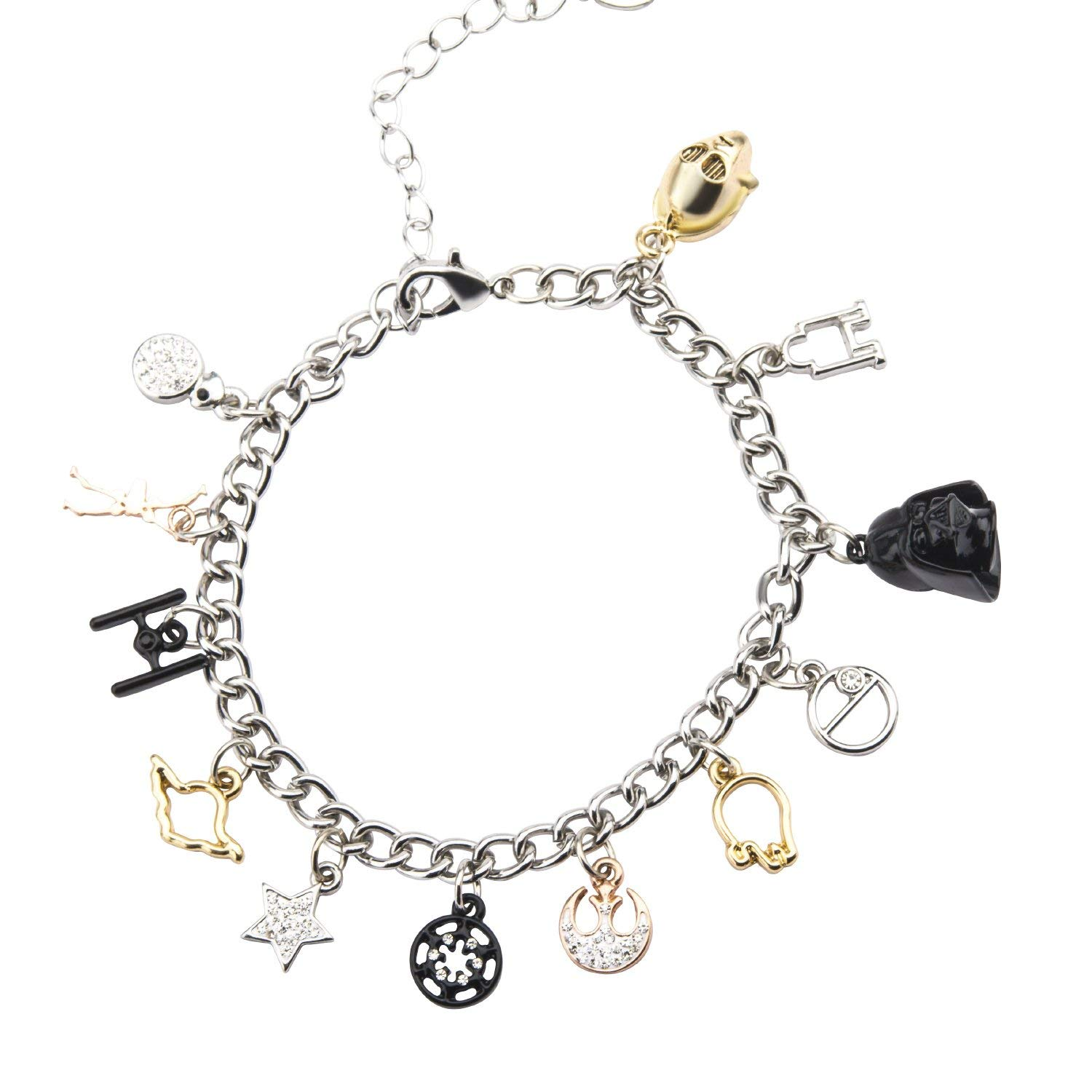 Star Wars Multi Charm Bracelet on Amazon