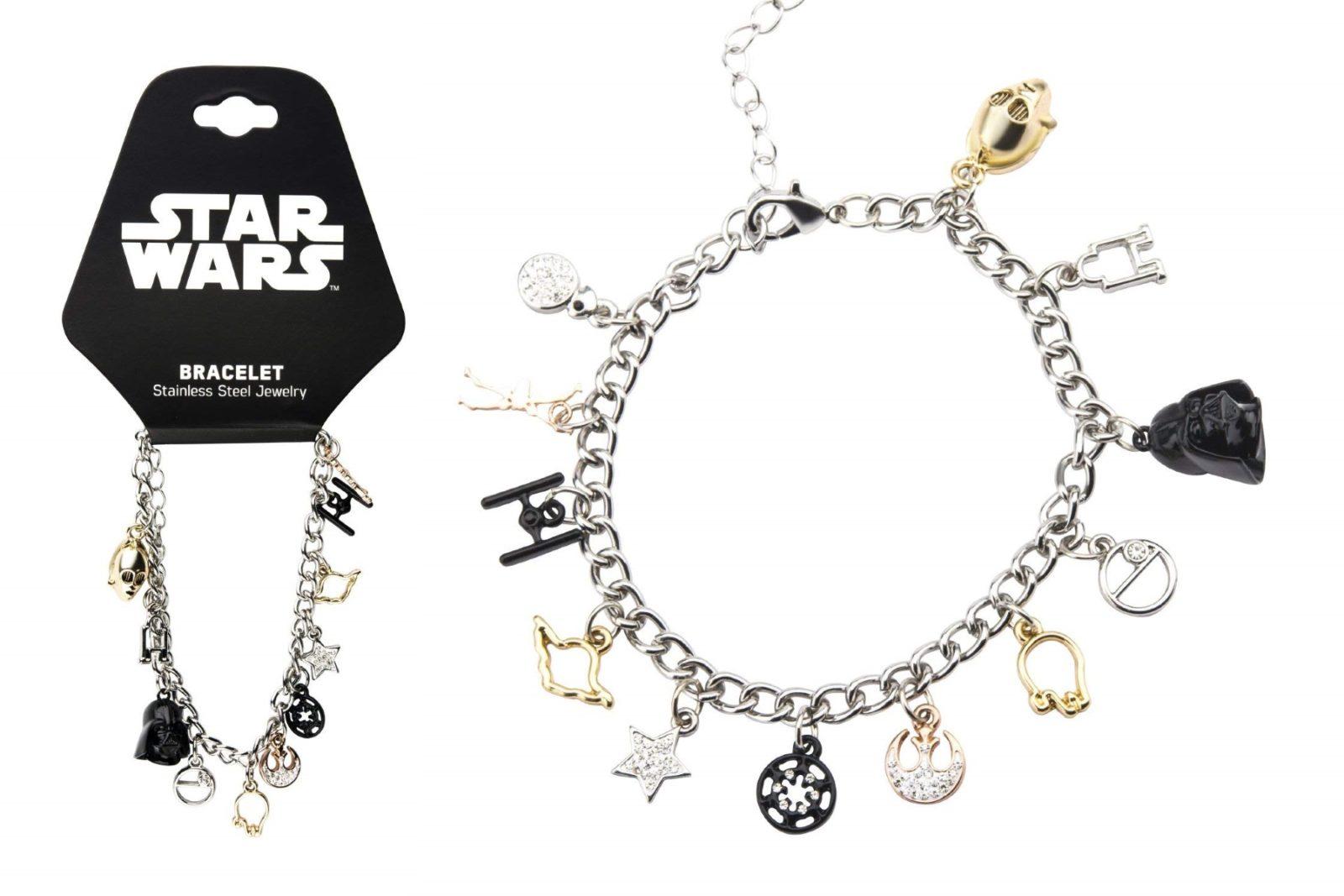 Star Wars Multi Charm Bracelet on Amazon