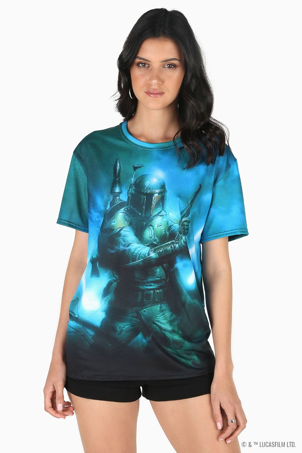 Black Milk Clothing x Star Wars Boba Fett BFT T-Shirt