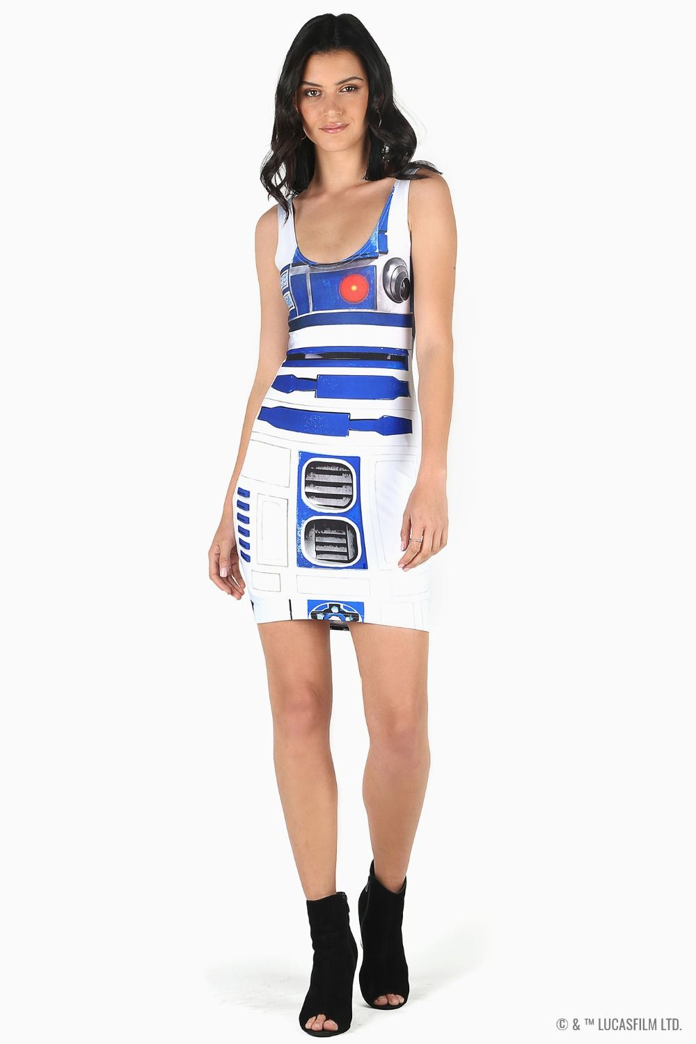 Black Milk Clothing x Star Wars Artoo 3.0 Toastie Dress