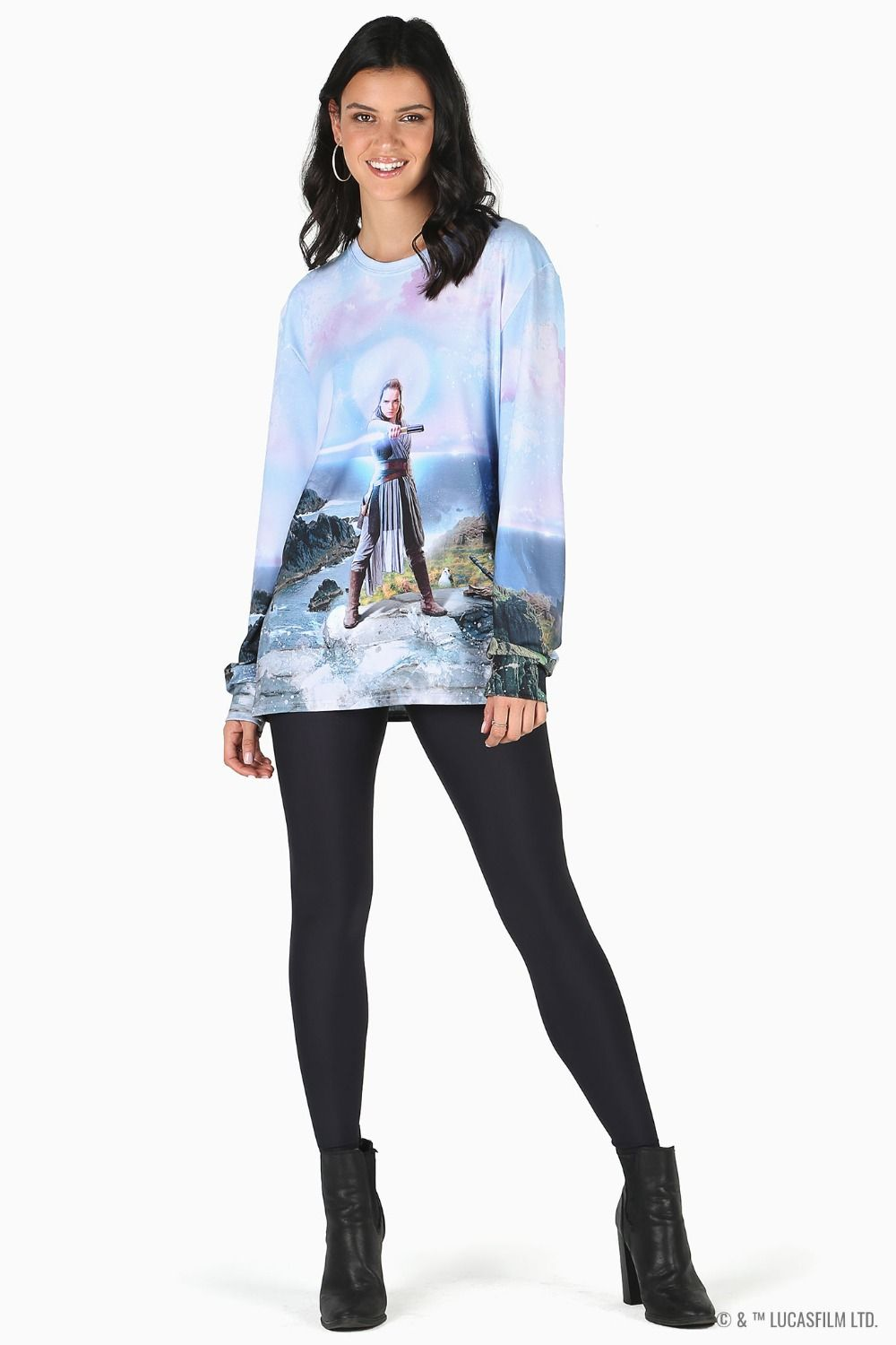 Black Milk Clothing x Star Wars Rey Long Sleeve BFT Top