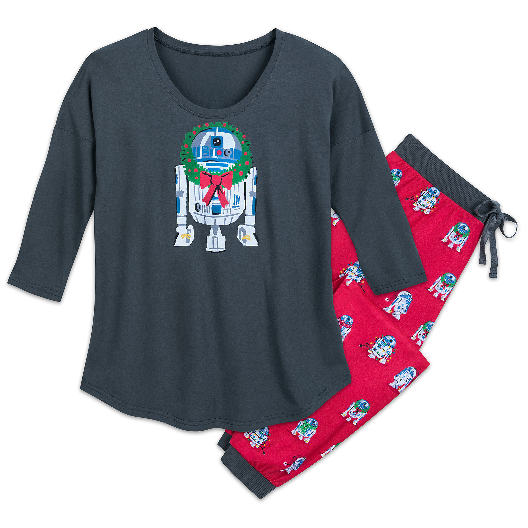 Women's Munki Munki x Star Wars R2-D2 Holiday Sleepwear Set at Shop Disney