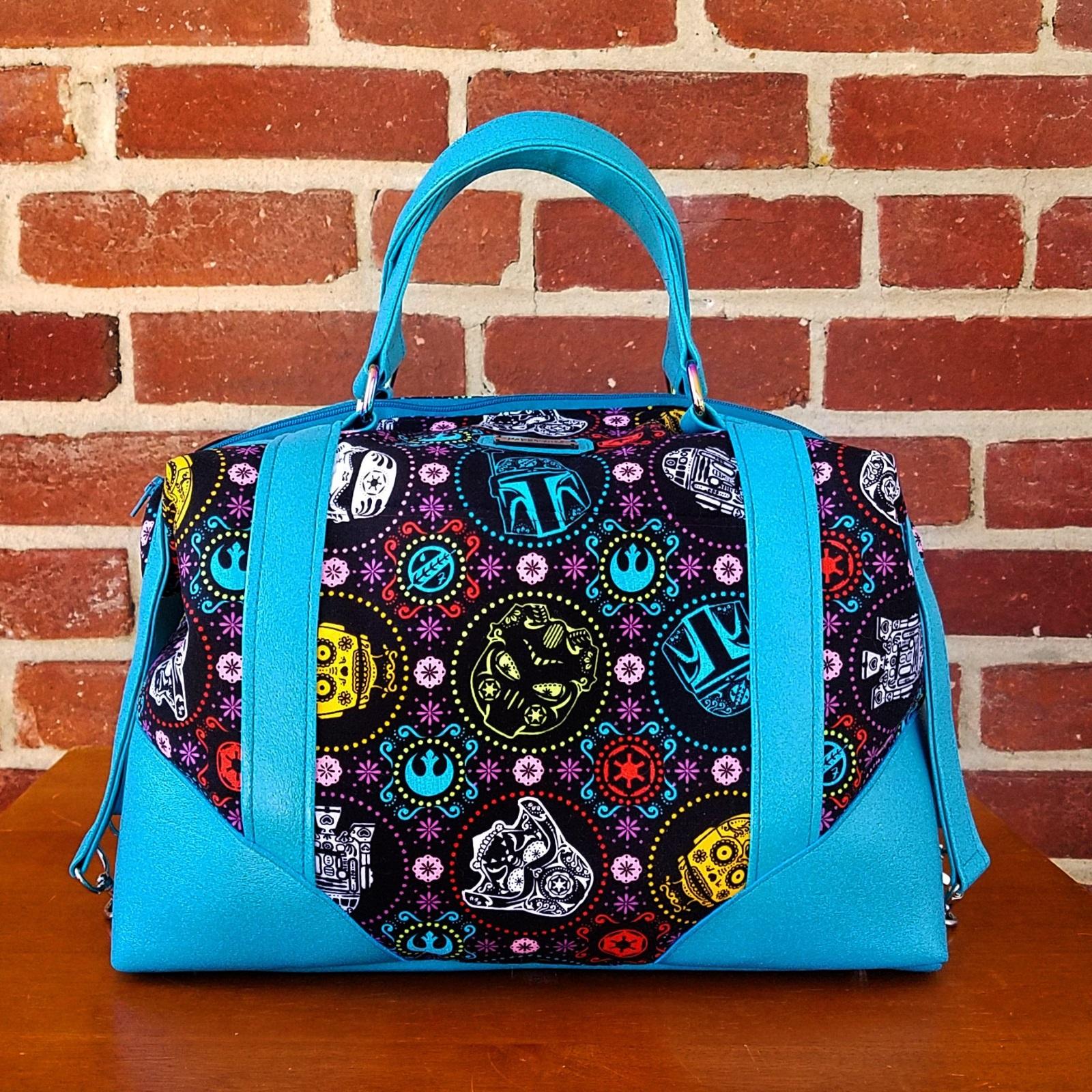 Star Wars Sugar Skull Print Handbag by BenaeQuee Creations on Etsy