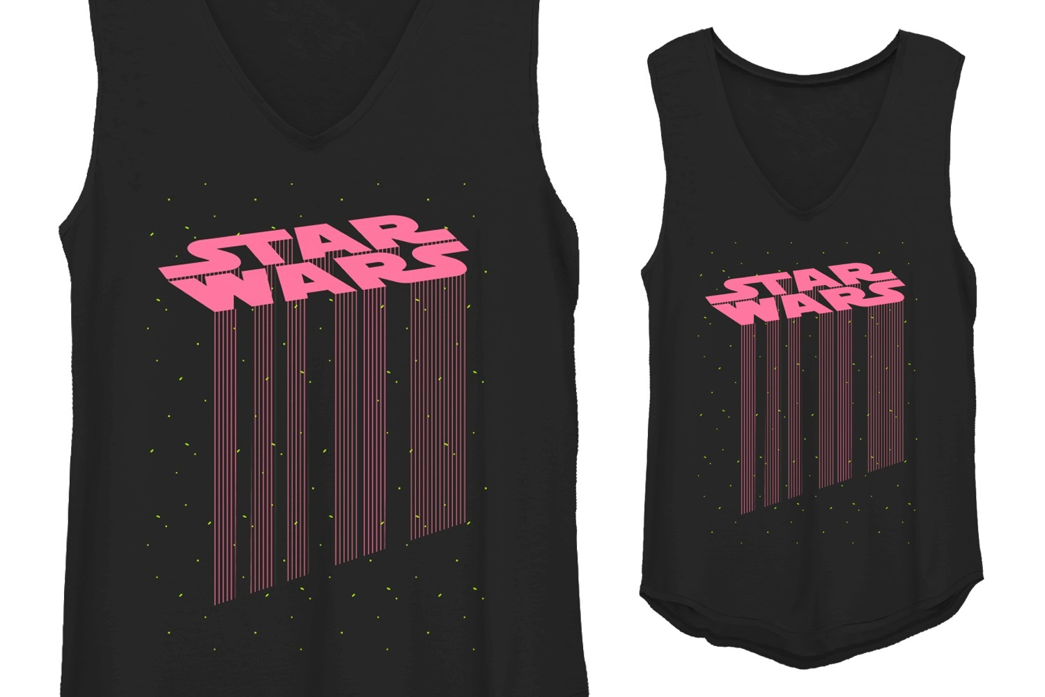 Women's Fifth Sun x Star Wars Retro Logo Top