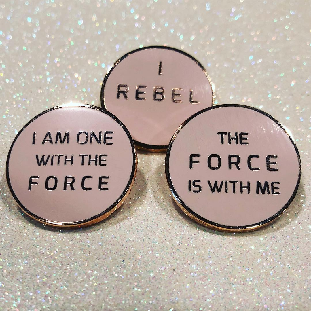 Star Wars Inspired Jewelry and Pins by Lantern Pins