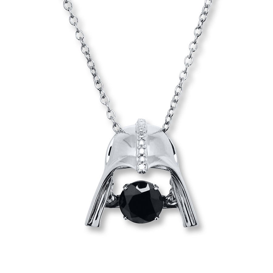 Kay Jewelers x Star Wars Darth Vader Onyx Necklace