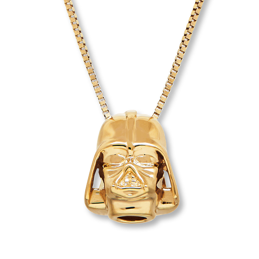 Kay Jewelers x Star Wars Darth Vader Yellow Gold Necklace