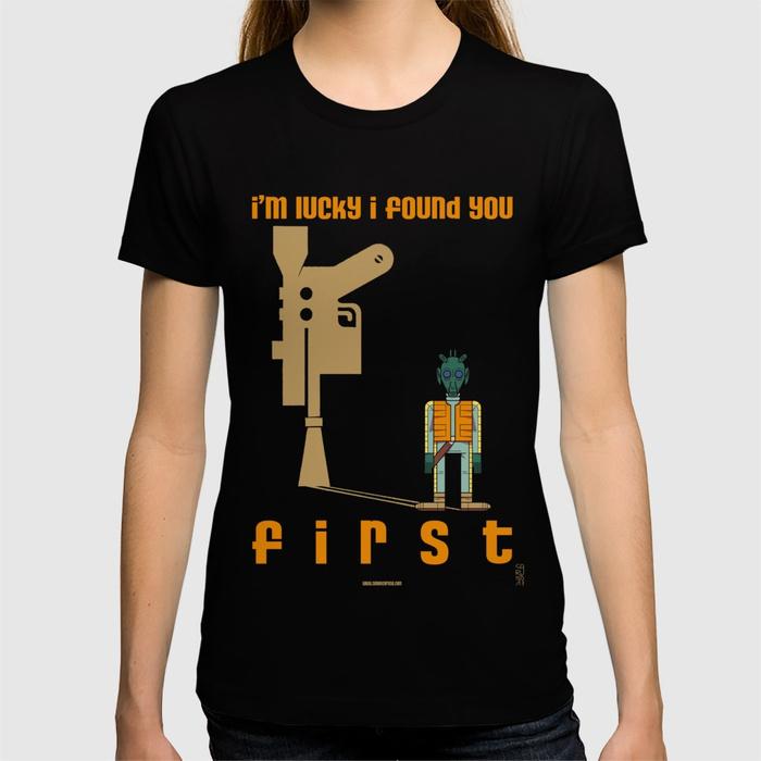 Leia's List - Women's Star Wars Greedo T-Shirt at Society6