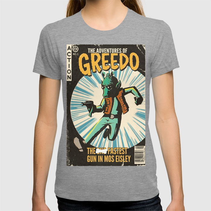 Leia's List - Women's Star Wars Greedo T-Shirt at Society6