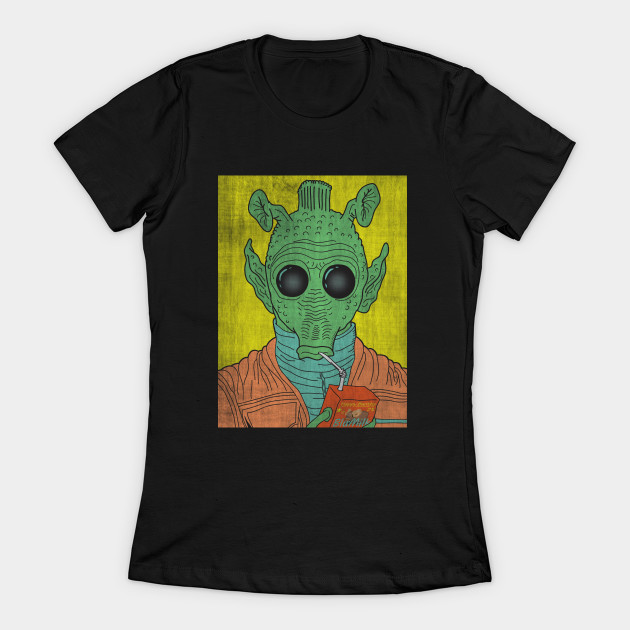 Leia's List - Women's Star Wars Greedo T-Shirt at TeePublic