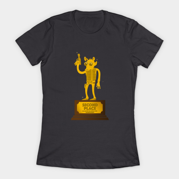 Leia's List - Women's Star Wars Greedo T-Shirt at TeePublic