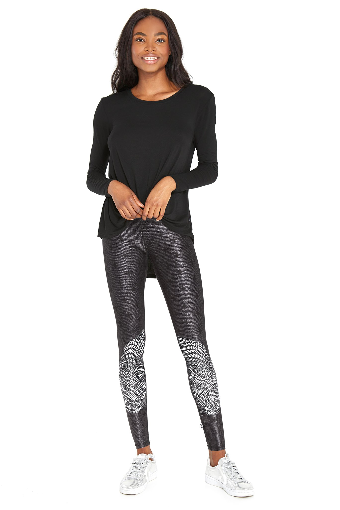 Women's Terez x Star Wars Crystal Trooper Tall Band Leggings