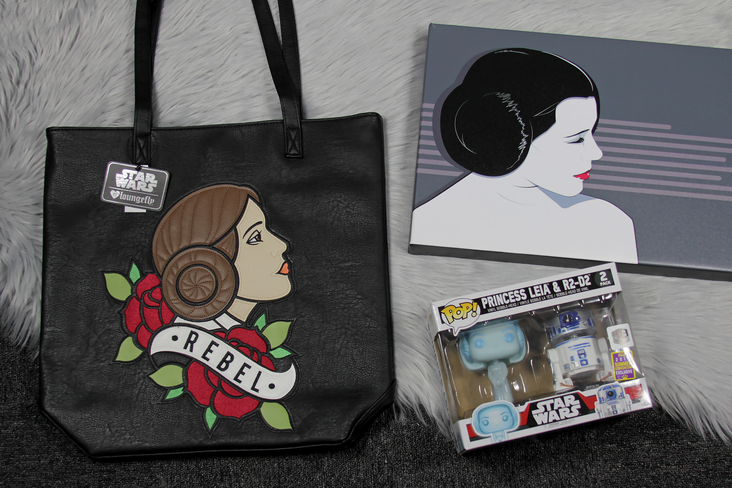 Star Wars Princess Leia Shopping Haul from Armageddon Expo Auckland 2018