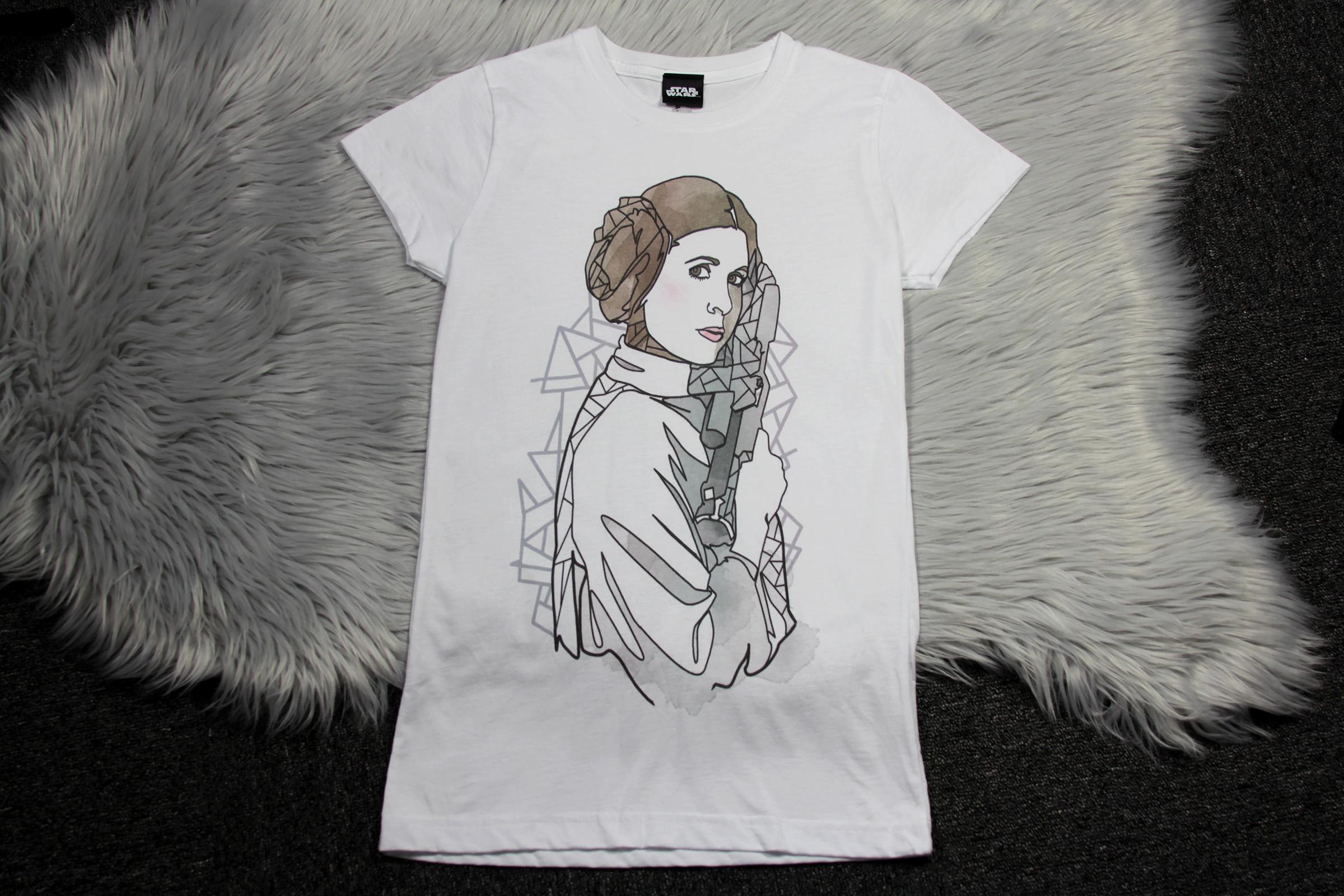 Women's Fifth Sun x Star Wars Princess Leia T-Shirt