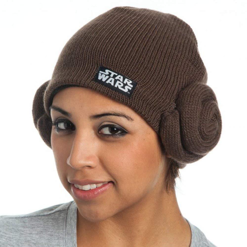 Women's Bioworld x Star Wars Princess Leia Knit Beanie on Amazon
