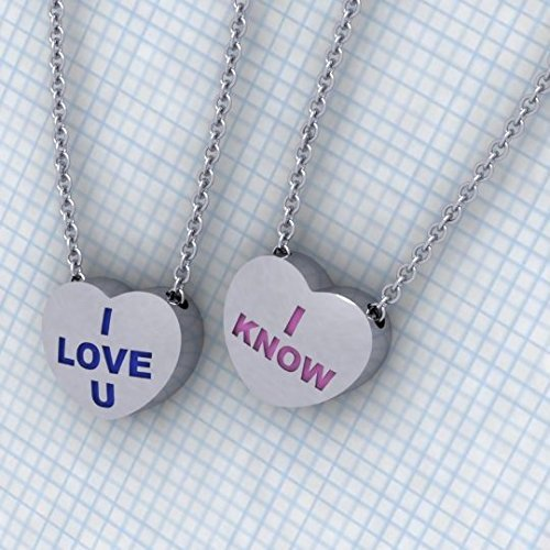 Star Wars Candy Heart Necklaces by Paul Michael Design on Amazon