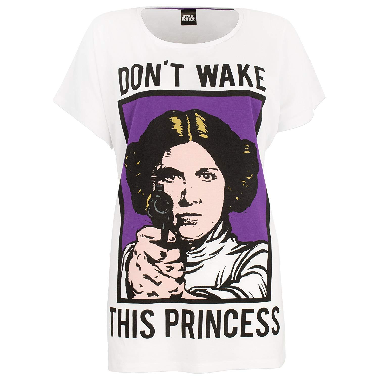 Women's Star Wars Princess Leia Pyjama Sleepwear Set on Amazon